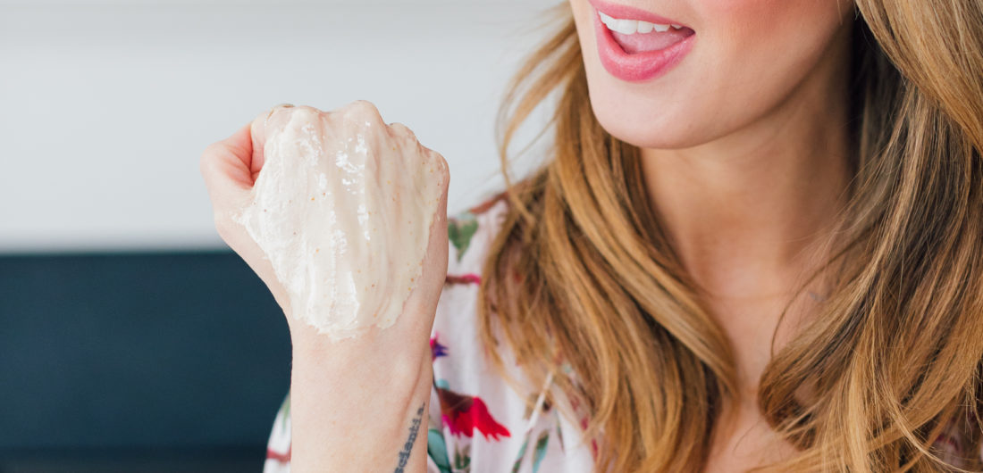 Blogger Eva Amurri shares a DIY raw honey and lavender face mask that you can make at home