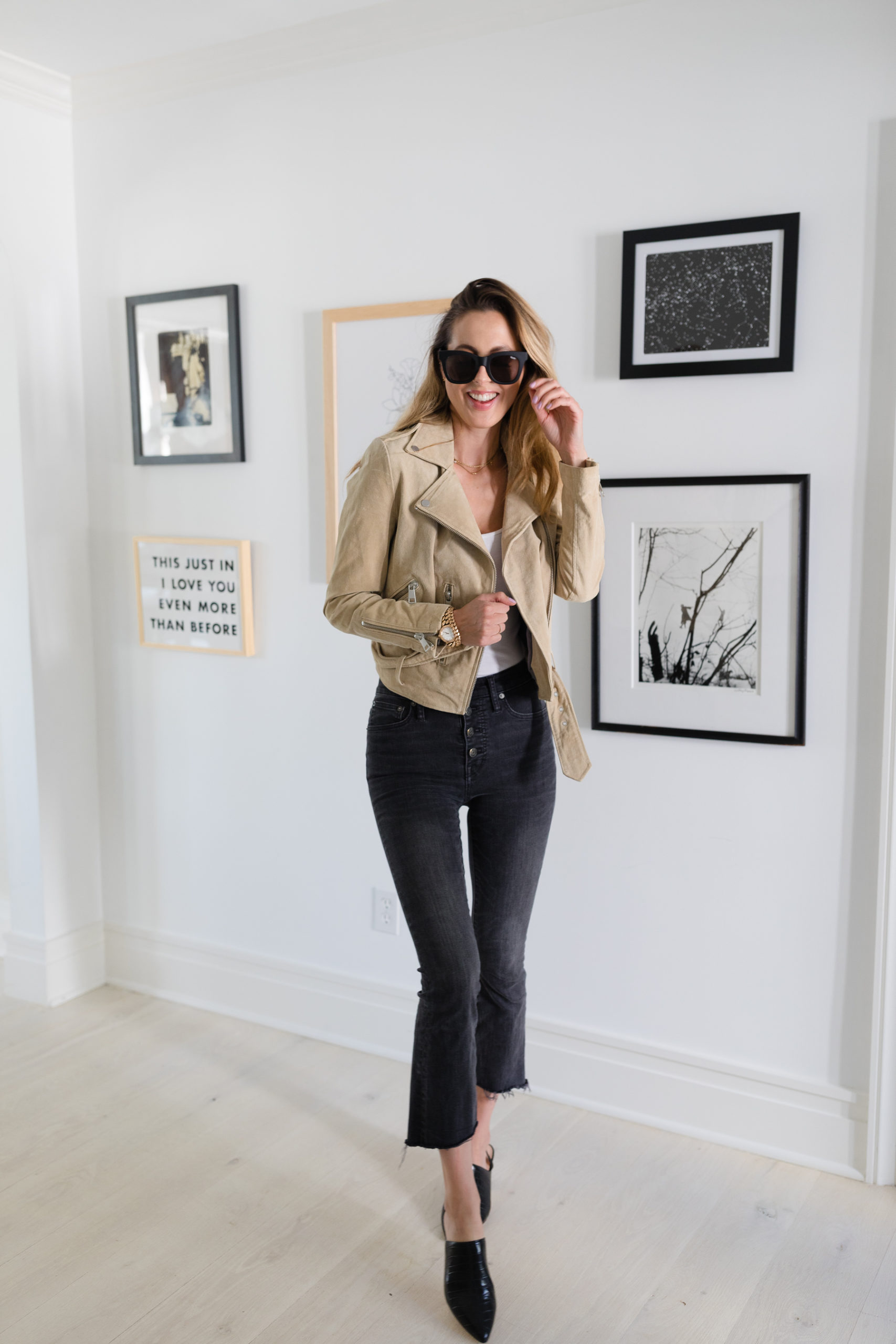 Eva Amurri shares tips for creating the perfect gallery wall