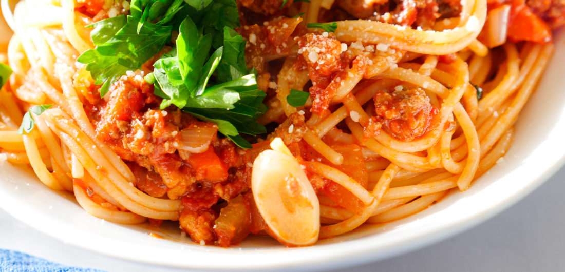 Eva Amurri shares a spaghetti bolognese recipe