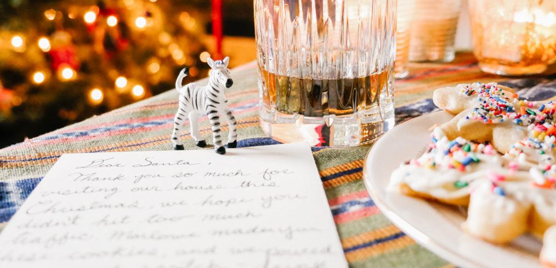 Eva Amurri shares what Christmas Eve treats she makes for Santa