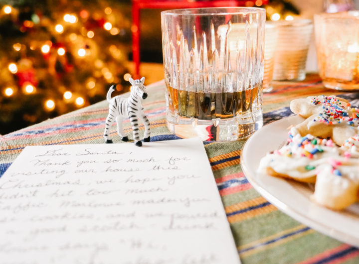 Eva Amurri shares what Christmas Eve treats she makes for Santa