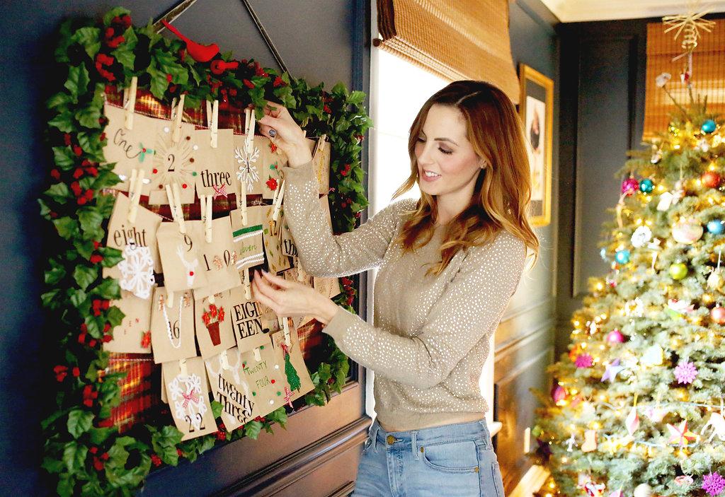 Eva Amurri shares a cute Holiday Advent Calendar DIY
