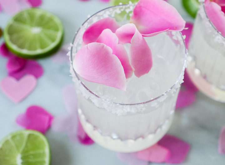Eva Amurri shares a Rosewater Margarita recipe for Valentine's Day