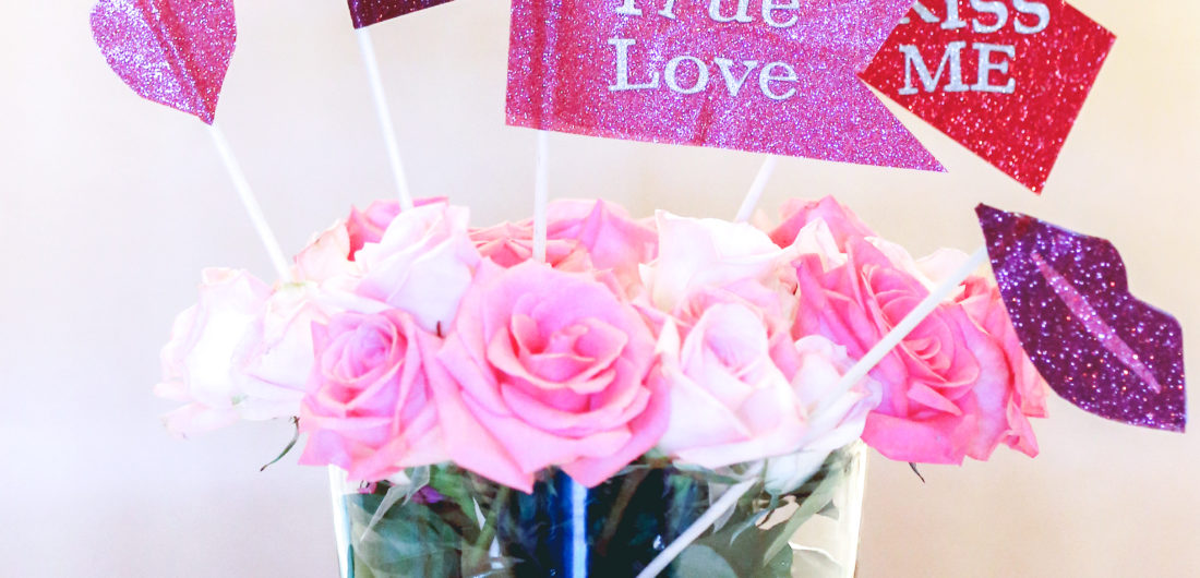 Eva Amurri shares how to make cute DIY Valentine's Day Photo Props