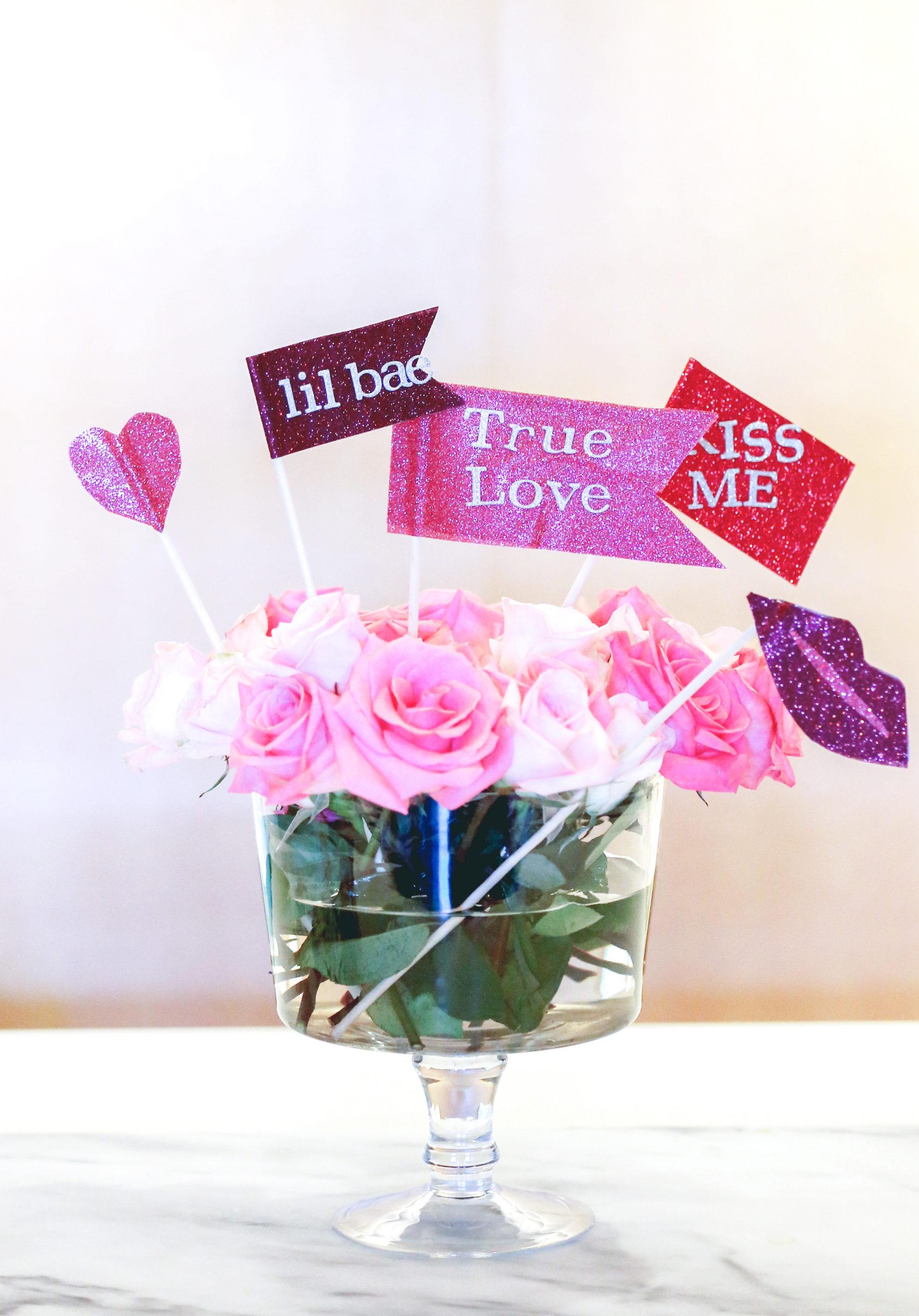 Eva Amurri shares how to make cute DIY Valentine's Day Photo Props