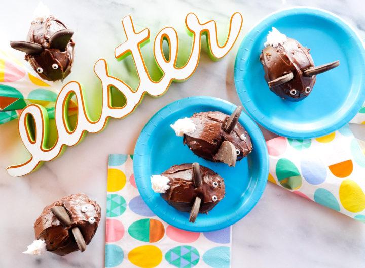 Eva Amurri shares a recipe for Easter Bunny Cupcakes