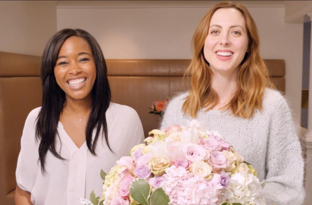 Eva Amurri shares a video tutorial for an Easter Floral Centerpiece