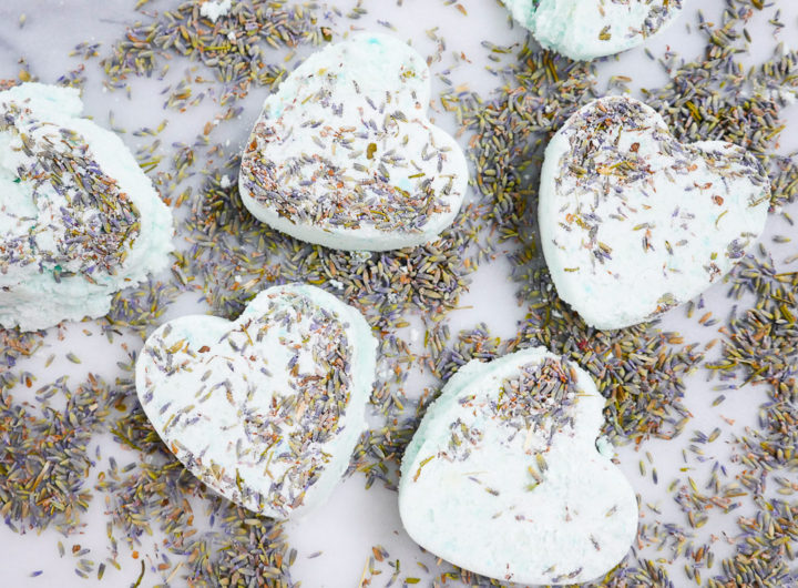 Eva Amurri shares how to make relaxing DIY lavender bath bombs