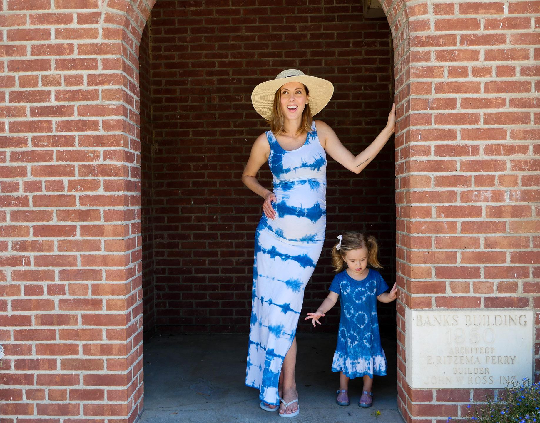 Blogger Eva Amurri shares a Shibori Dress DIY