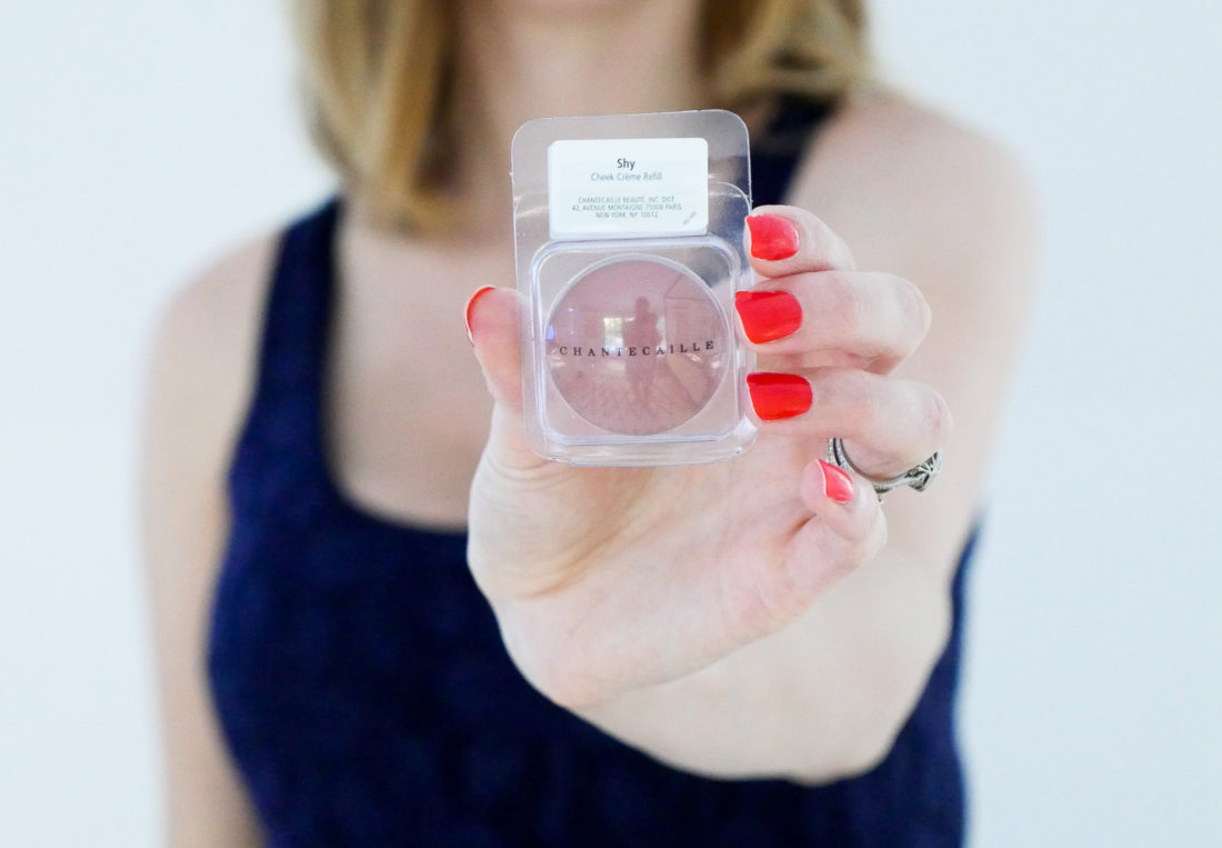 Eva Amurri Martino of Happily Eva After blog includes Chantecaille cream blush as one of her September beauty picks
