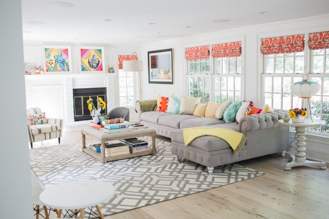 Sensational Happily Eva After Family Room Reveal Happily Eva After Bralicious Painted Fabric Chair Ideas Braliciousco