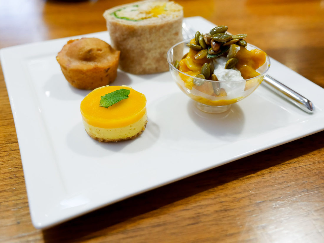 A closeup of the Gerber Baby Food-inspired Snacks at the Gerber Babies event in NYC