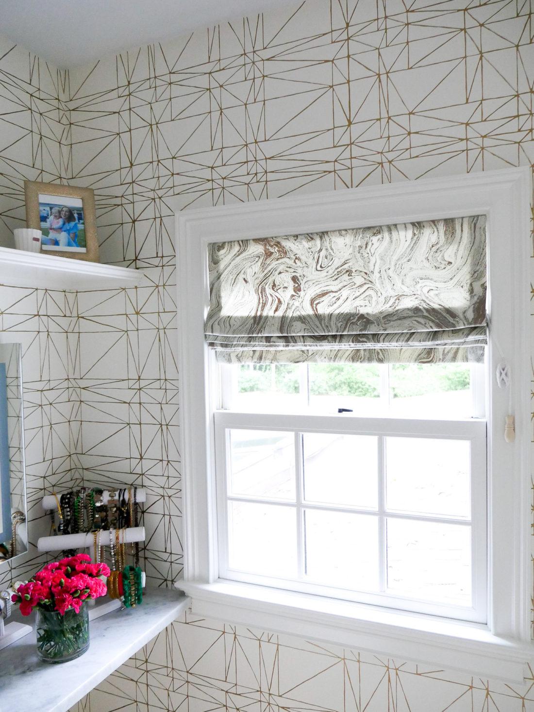 Details of Eva Amurri Martino's glam room in her connecticut home