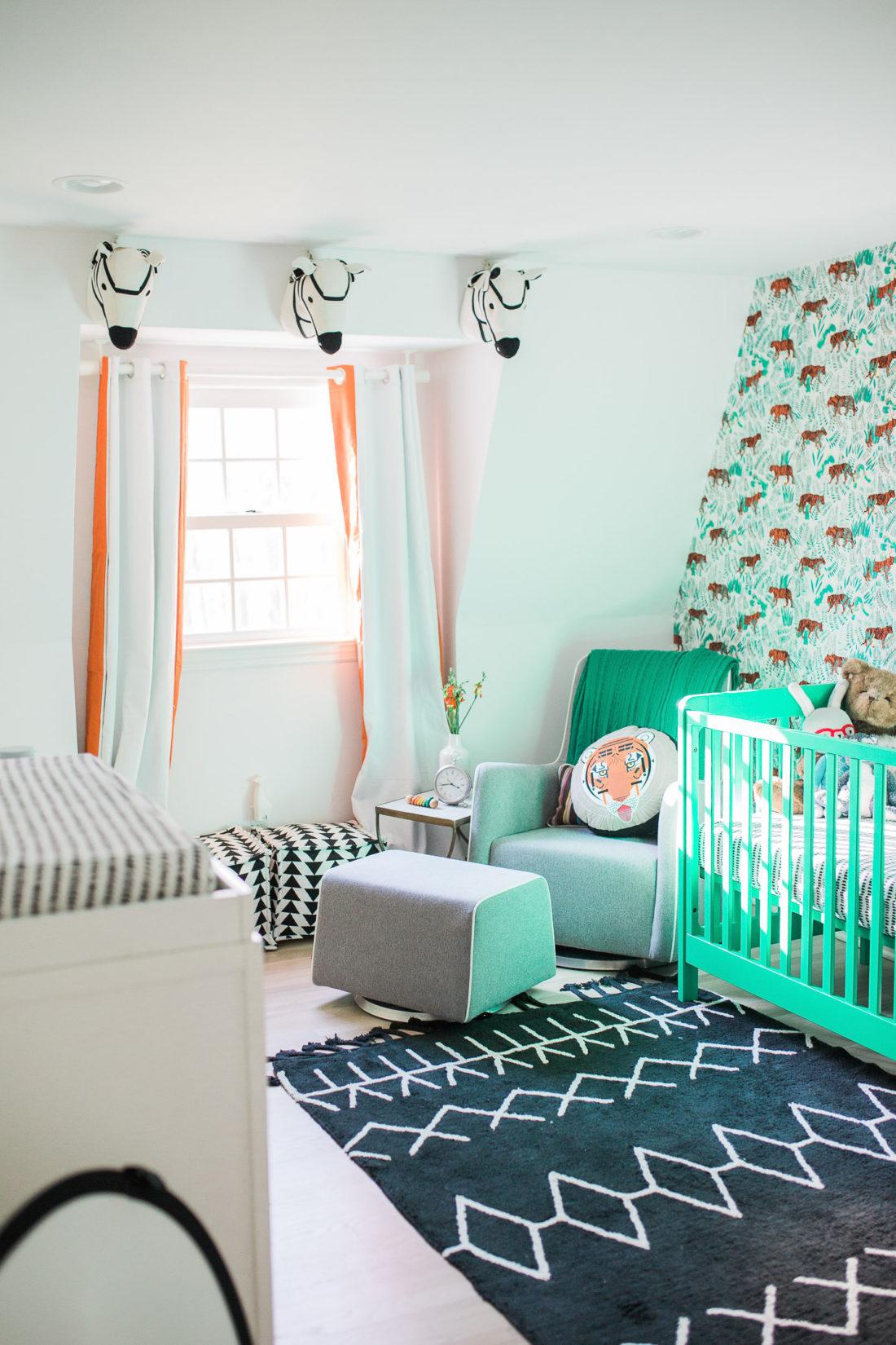Nursery designed by Eva Amurri Martino of lifestyle and motherhood blog Happily Eva After for her newborn son, Major