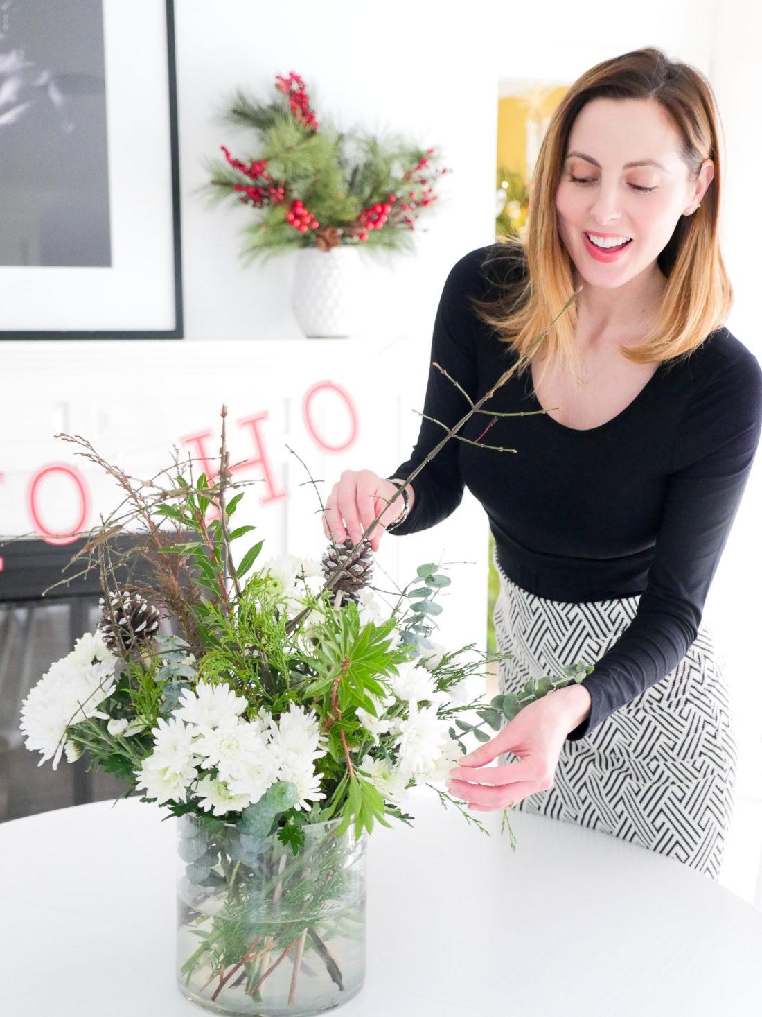Eva Amurri Martino decorates her home for the Christmas Holiday