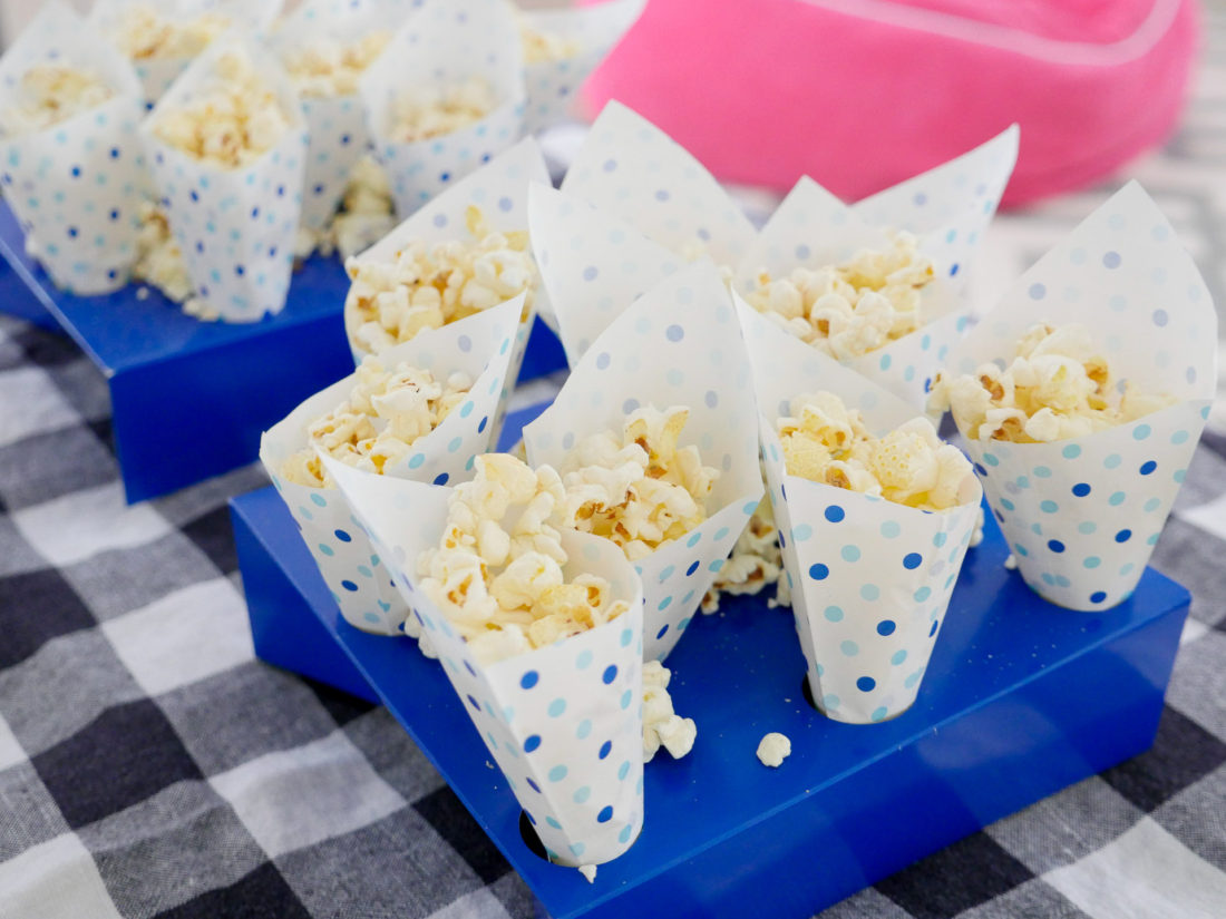 Food selections at Eva Amurri Martino's kids party for the season premiere of Ruff-Ruff, Tweet and Dave