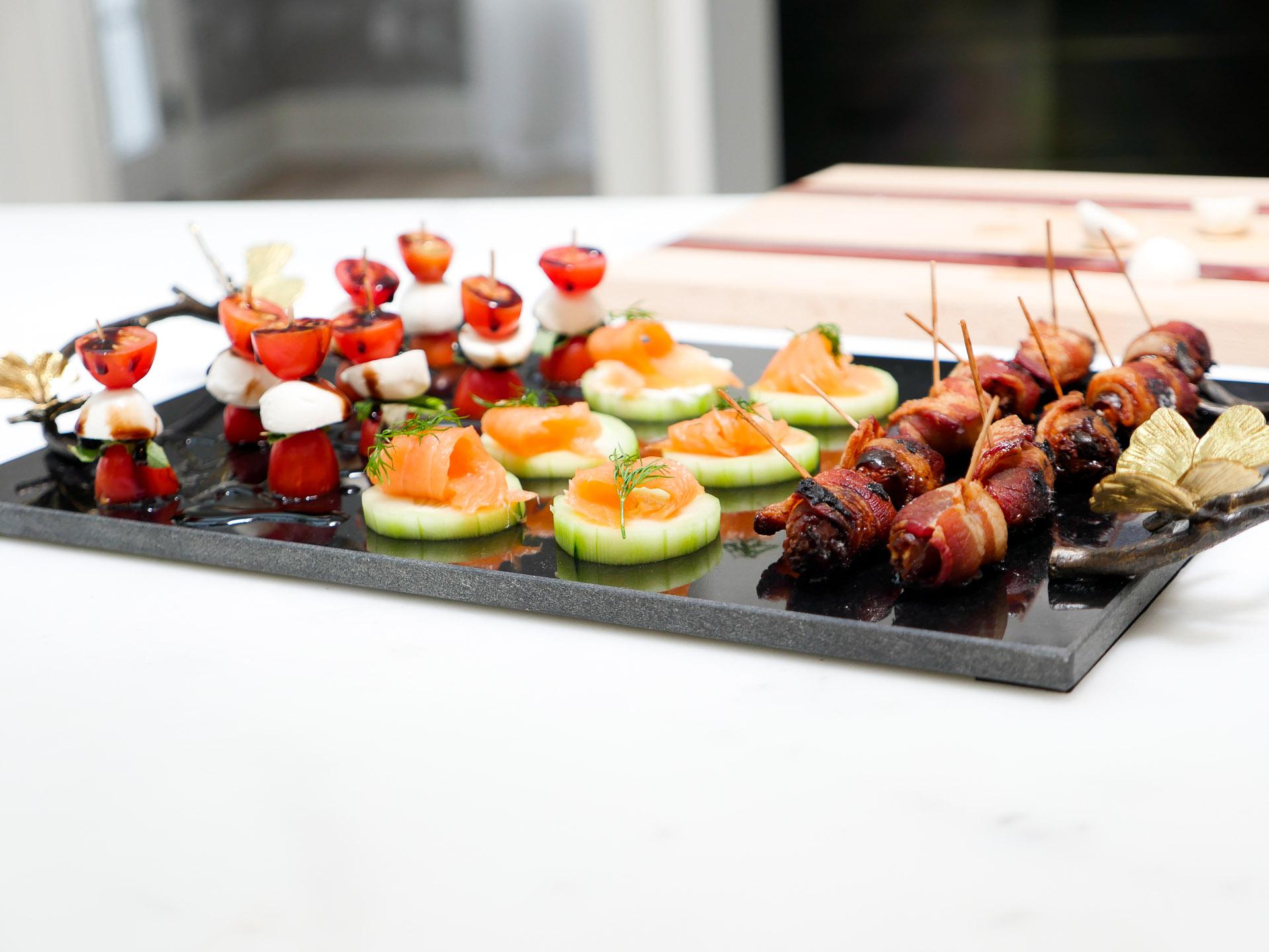 Eva Amurri shares 3 Easy Hors D'Oeuvres