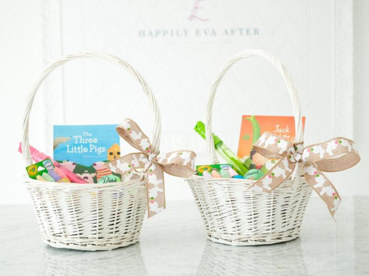 Eva Amurri shares how to fill an Easter Basket