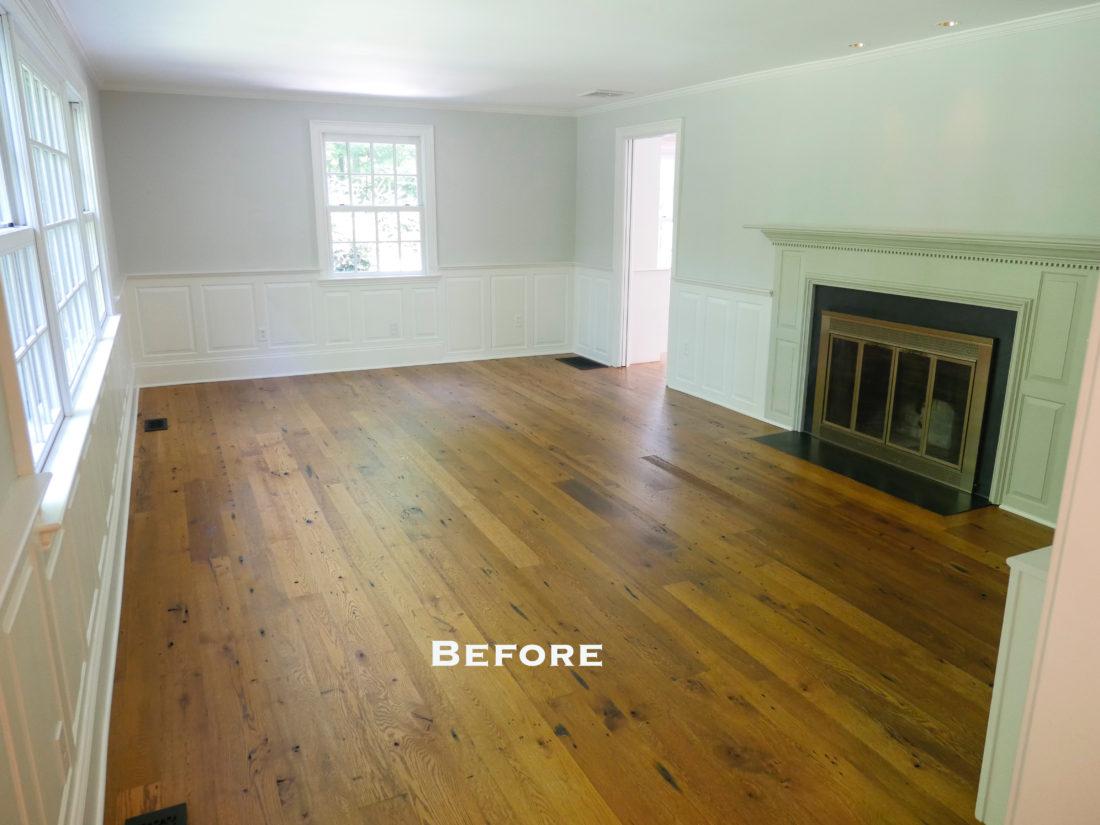 A look at Eva Amurri Martino's living room before her design updates