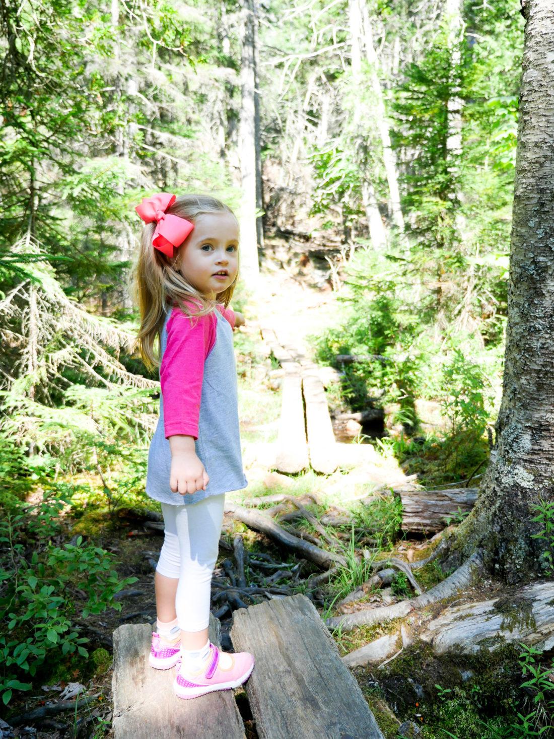 Marlowe Martino hikes in Acadia National Park