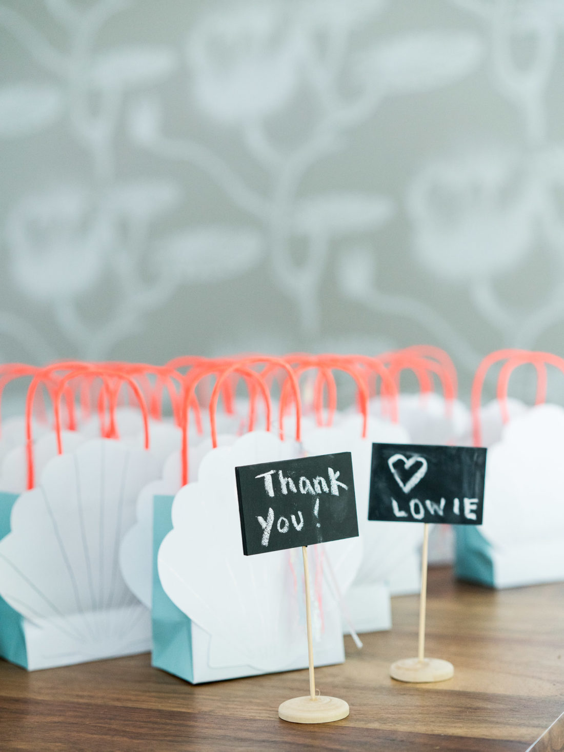 Goodie Bags at Marlowe Martino's third birthday party