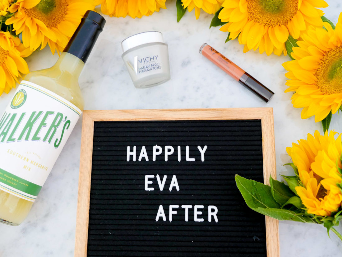 Eva Amurri Martino shares her roundup of monthly obsessions for September, including a felt letter board, margarita mix, clay mask, and lip gloss