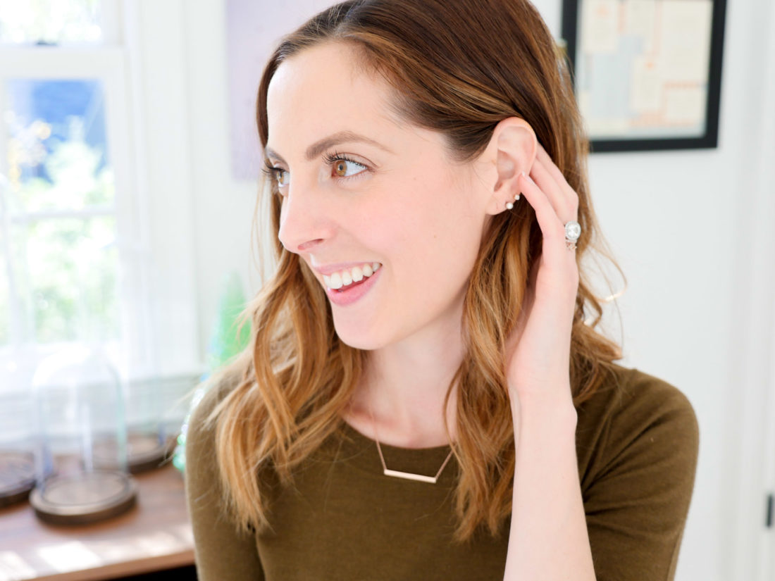 Eva Amurri Martino wears a few of her essential everyday pieces of jewelry