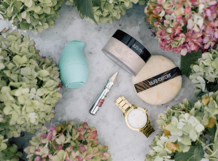Eva Amurri Martino shares her monthly roundup of product obsessions, including a volumizing fiber brow gel, translucent setting powder, hand sanitizer, and gold watch