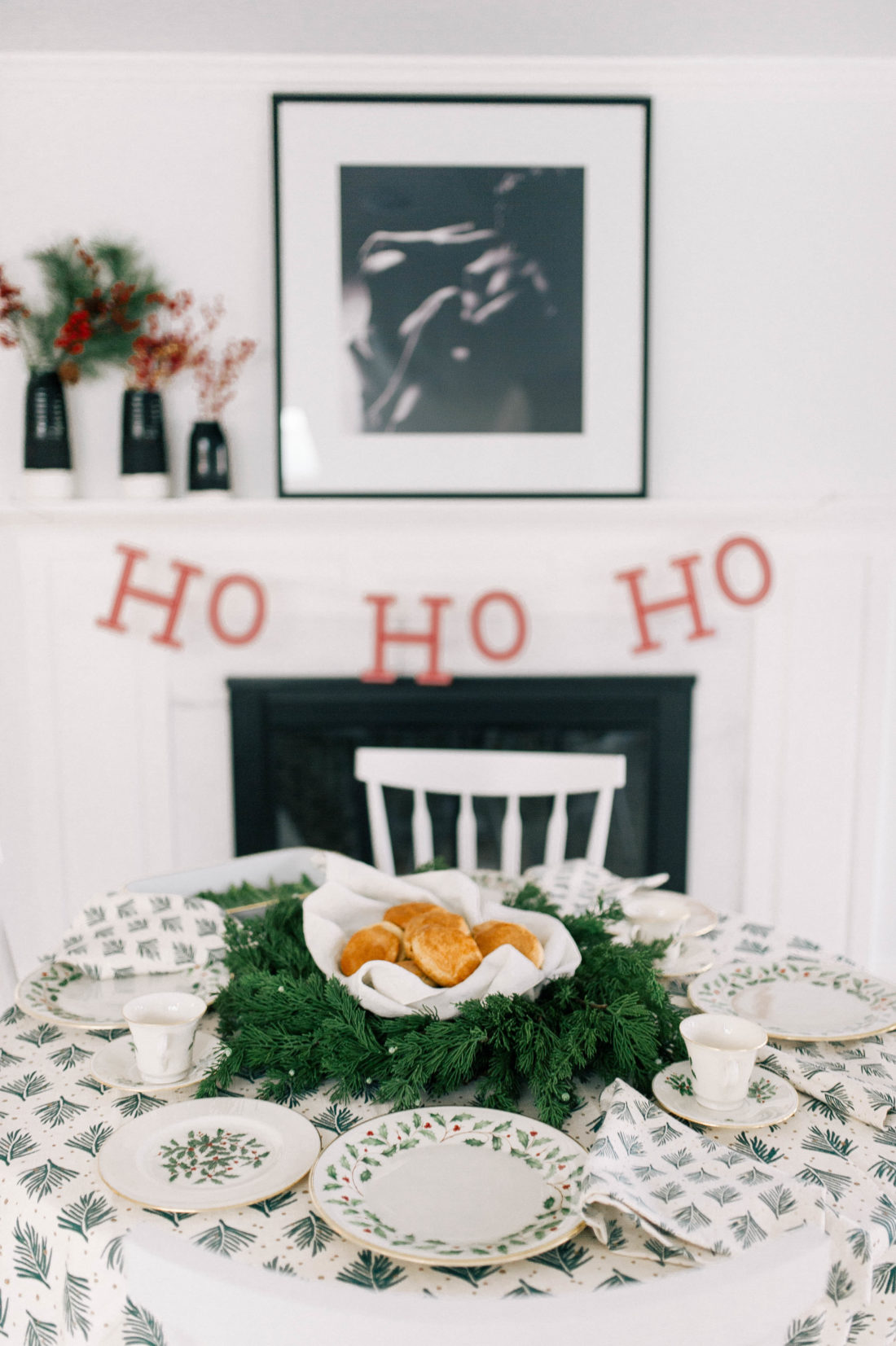 Eva Amurri Martino has a festive brunch in her kitchen on Christmas Day