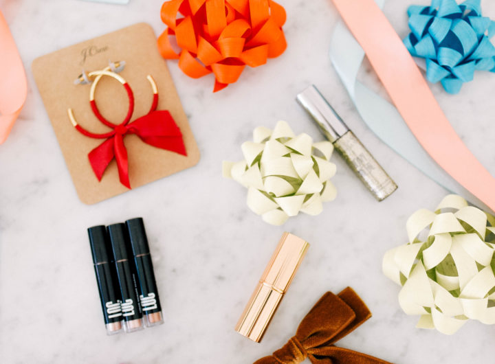 Eva Amurri Martino shares her monthly roundup of obsessions for December, focusing on Holiday makeup and accessories