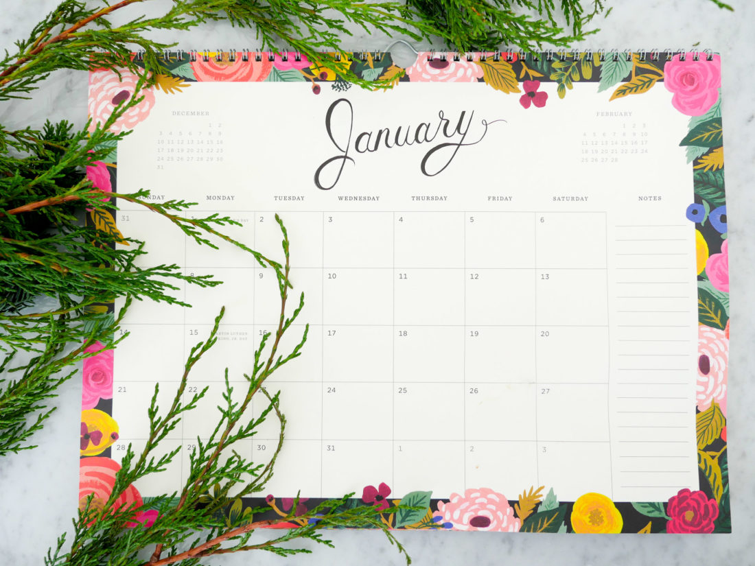 Eva Amurri martino shares a pretty calendar planner as part of her monthy obsessions post