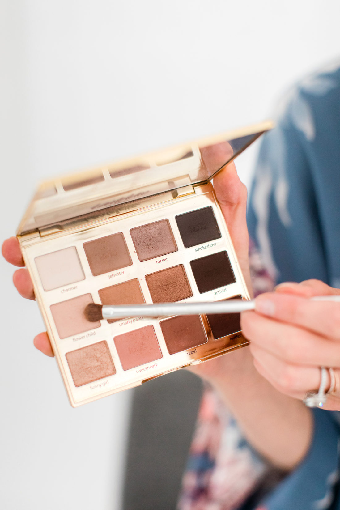My photo shoot makeup look happily eva after eva amurri martino applies eye shadow as part of her photoshoot makeup tutorial baditri Images