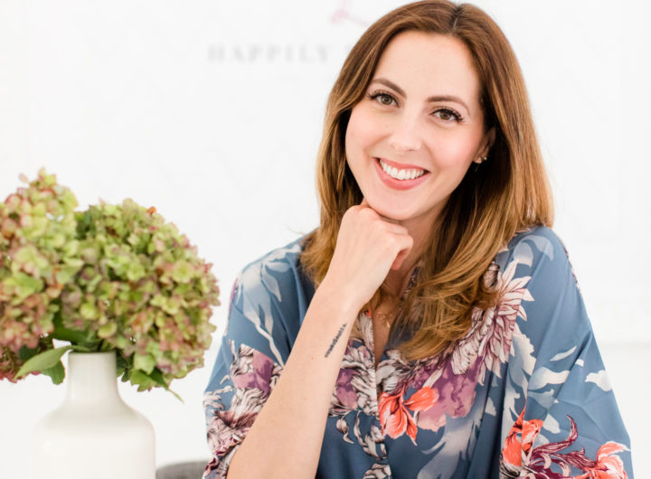 Eva Amurri Martino shows a tutorial for achieving her glowing and natural make up look for blog photo shoots
