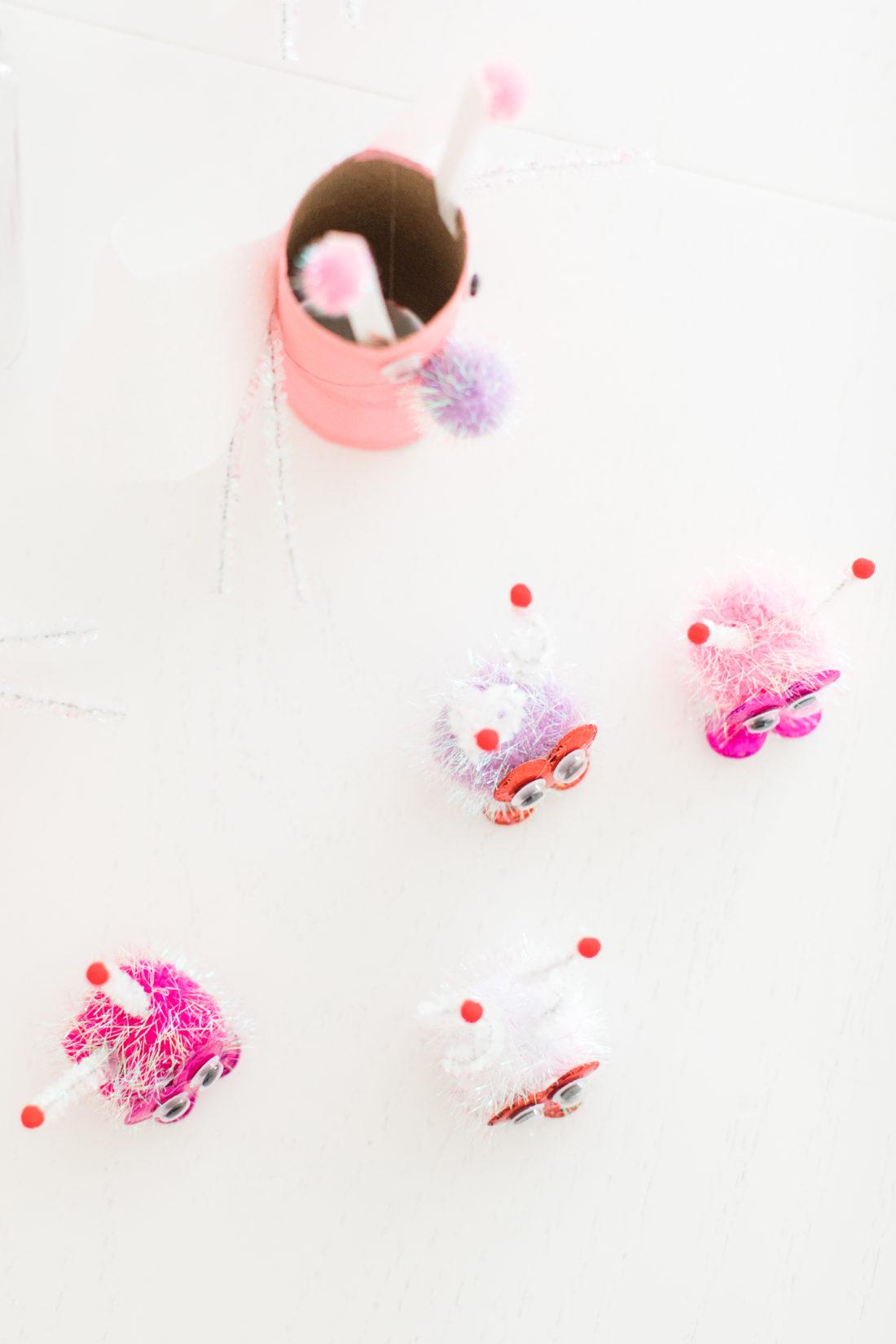 Eva Amurri Martino shares the steps to create adorable DIY lovebugs for Valentine's Day