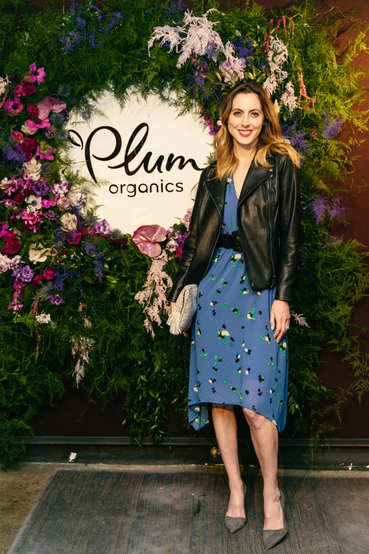 Eva Amurri Martino attends Plum Organics #KeepingItTogether Panel in New York City