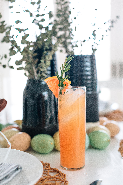 Eva Amurri Martino shares her recipe for a rosemary grapefruit cocktail