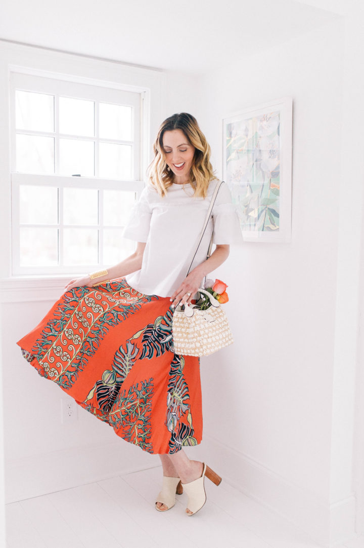 Eva Amurri Martino shares her picks for Raffia Accessories For Spring