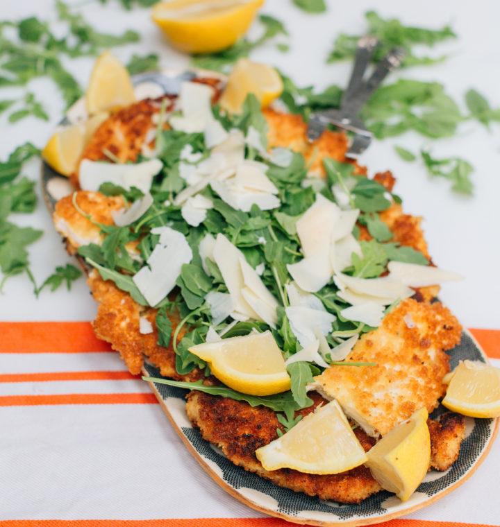 Eva Amurri Martino's Chicken Milanese