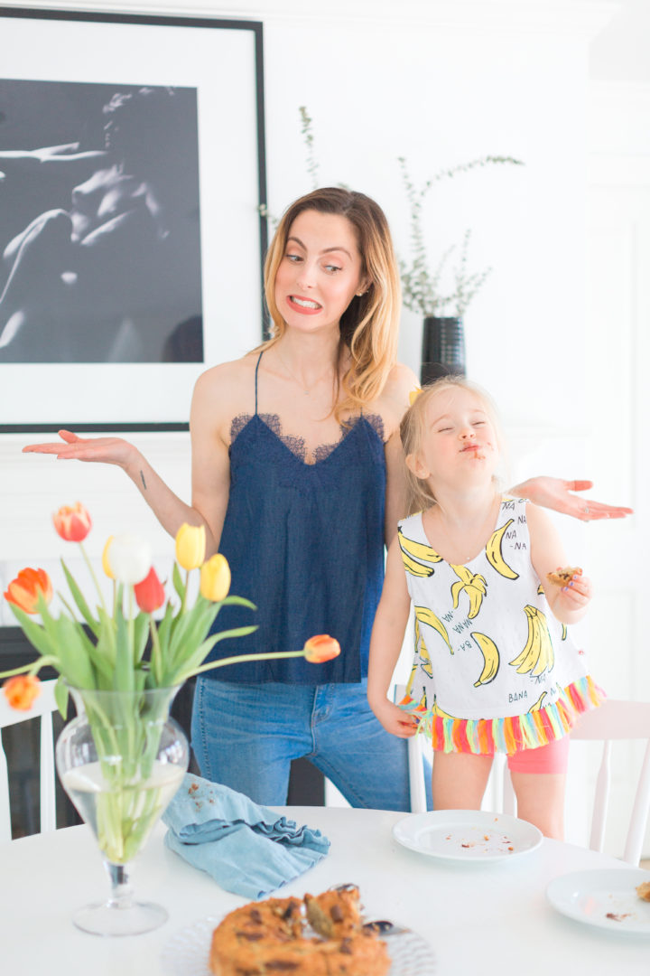 Eva Amurri Martino goofs around with daughter Marlowe