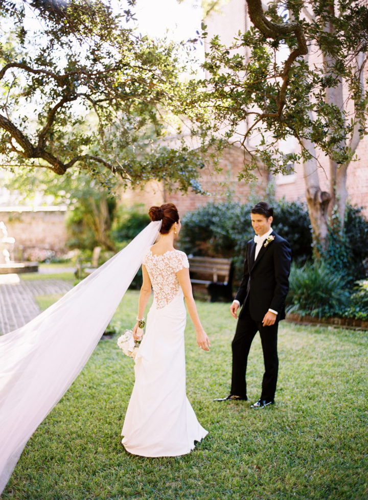 Eva Amurri Martino Greets Her Husband Kyle At Their Charleston Wedding