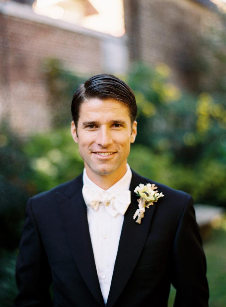 Kyle Martino's classic groom style at his wedding to Eva Amurri