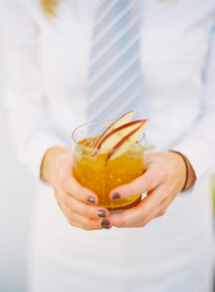 Passed bespoke cocktails at Eva Amurri Martino's wedding