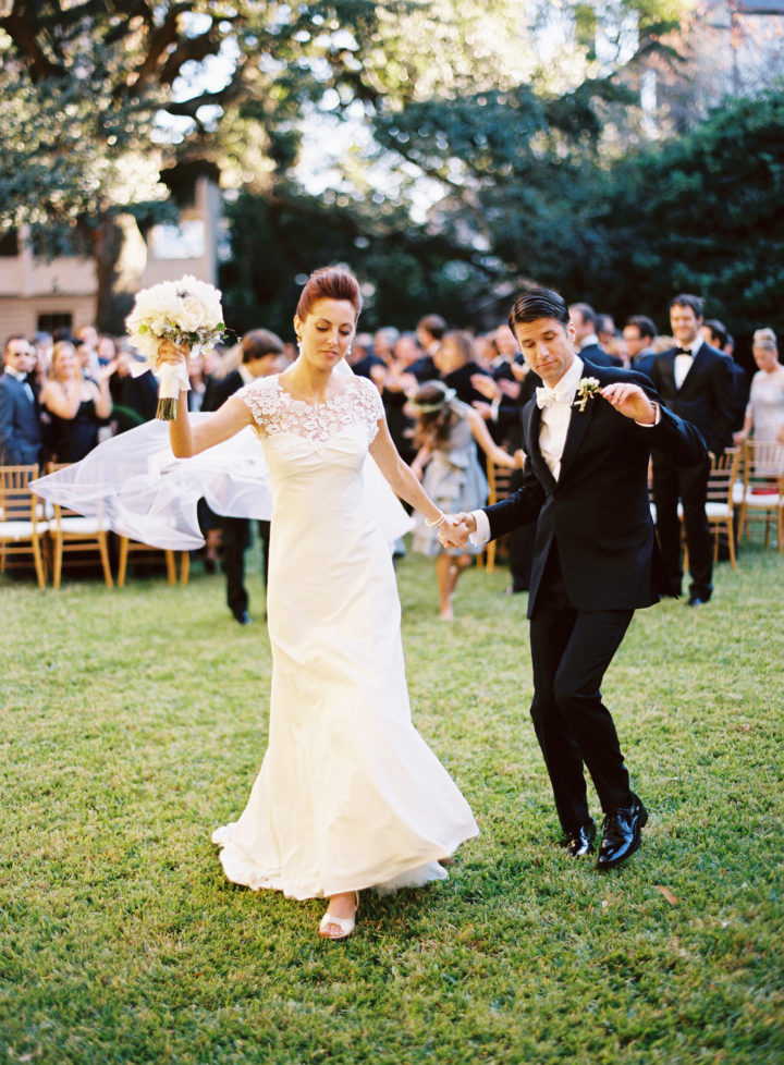 Eva Amurri Martino and Kyle Martino at their Charleston wedding