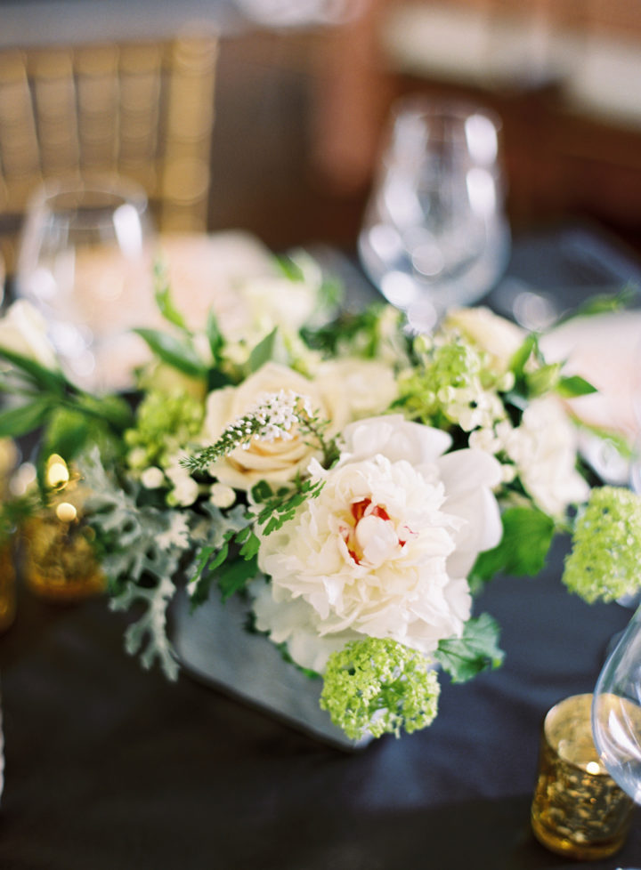 Floral arrangements at Eva Amurri Martino's Charleston wedding