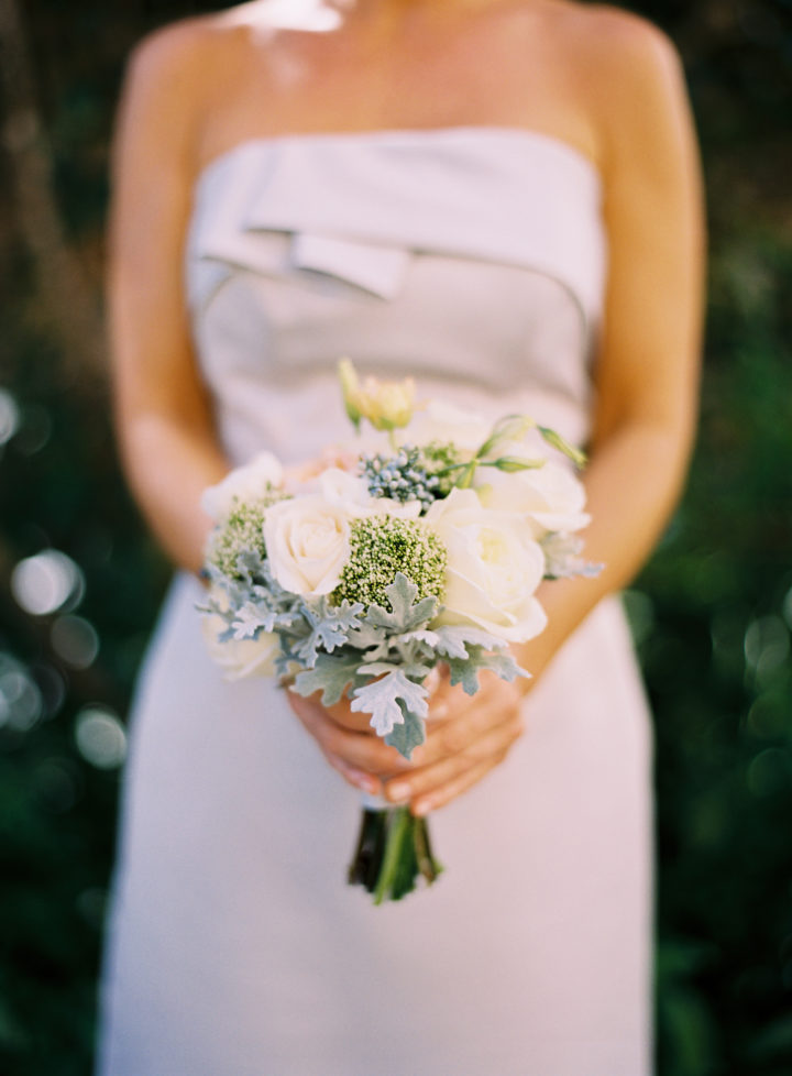 Bridesmaid bouquets at Eva Amurri's Charleston Wedding to Kyle Martino