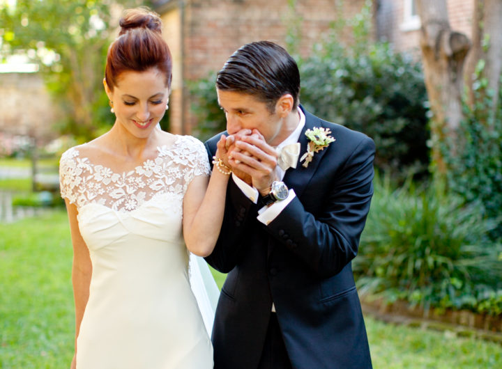 Kyle Martino sweetly kisses his bride Eva Amurri