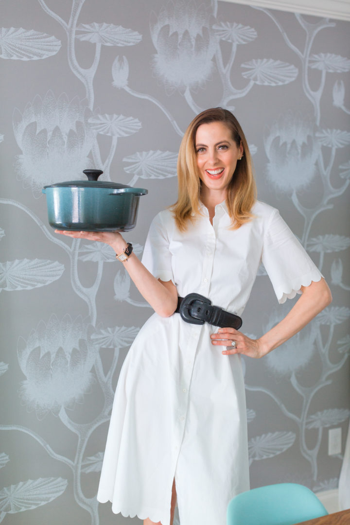 Eva Amurri Martino shows off her favorite Le Creuset cookware