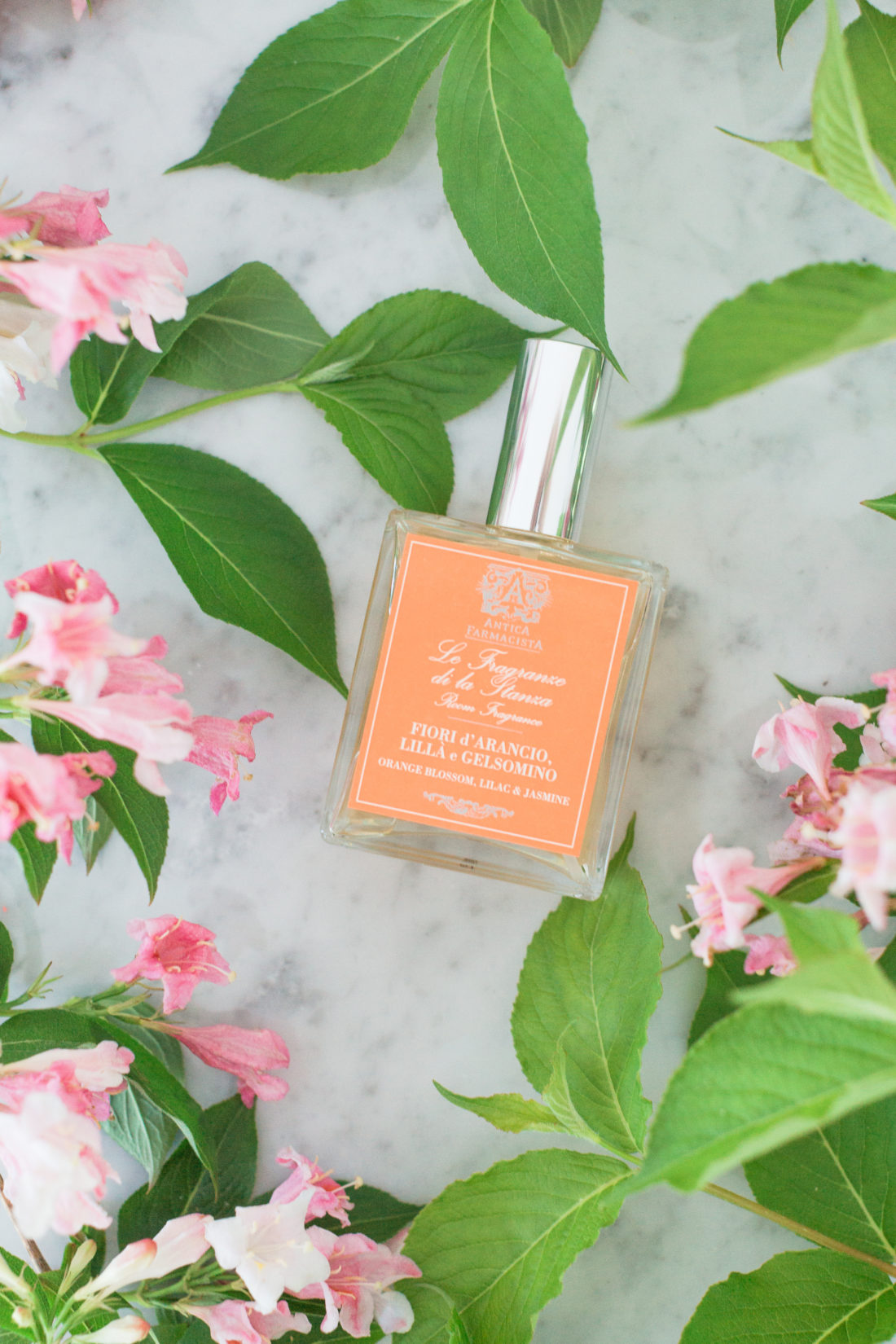 Eva Amurri Martino shares an orange blossom and jasmine room fragrance as part of her monthly obsessions roundup