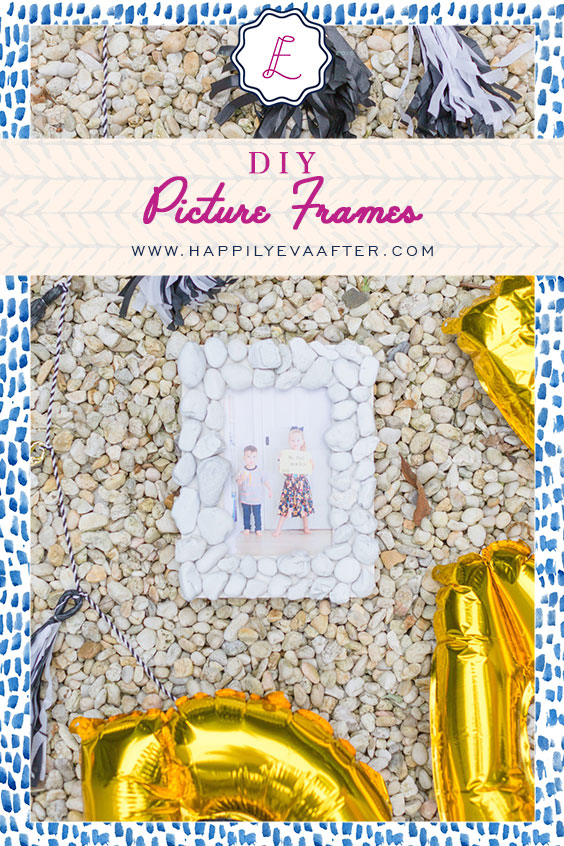 Eva Amurri shares her DIY Picture Frames for Father's Day
