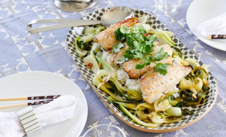 Eva Amurri Martino's recipe for Miso Marinated Cod
